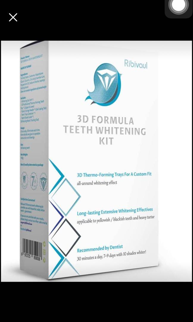 Brand new Teeth Whitening Kit at Home, Professional Teeth Whitener with 3 Whitening Gel and Customiz