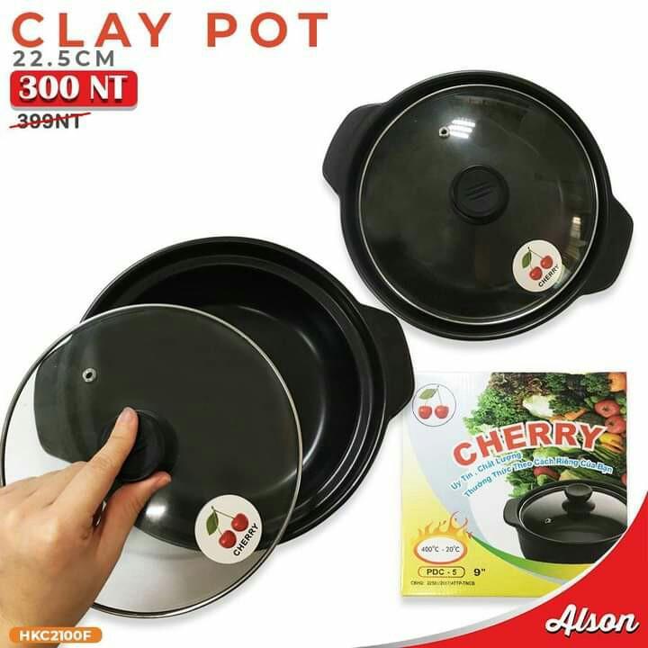 Clay pot 22.5cm