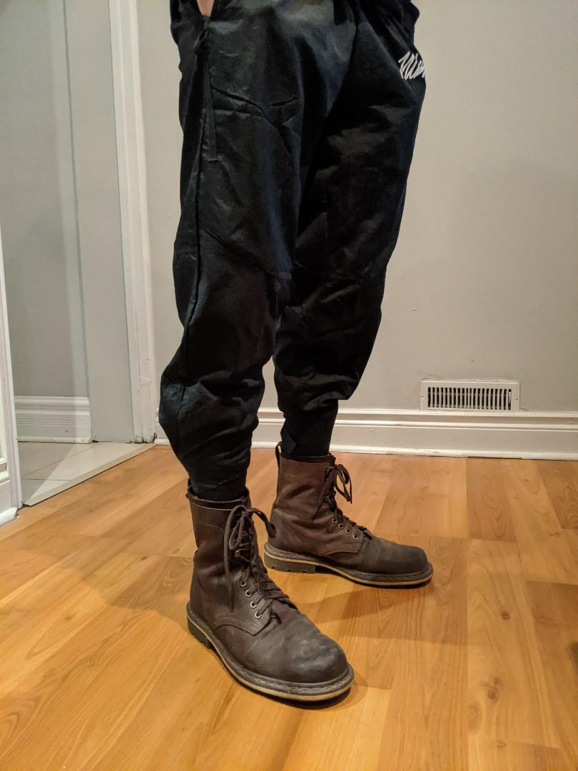 Doc Martens leather combat boots