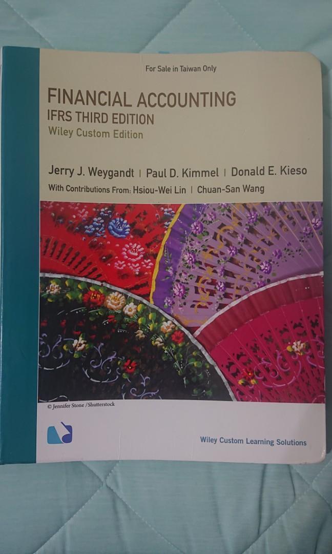 初級會計學FinancialAccounting IFRS third edition