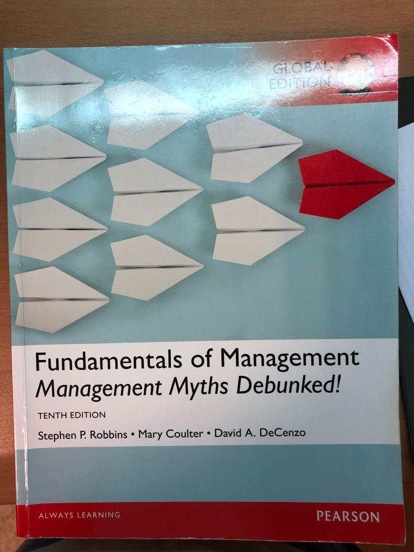 Fundamentals of Management Management Myths Debunked