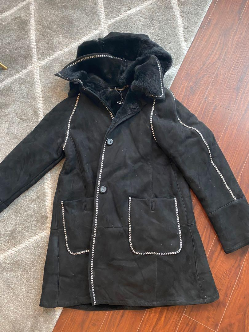 Genuine Shearling coat size M Italy made