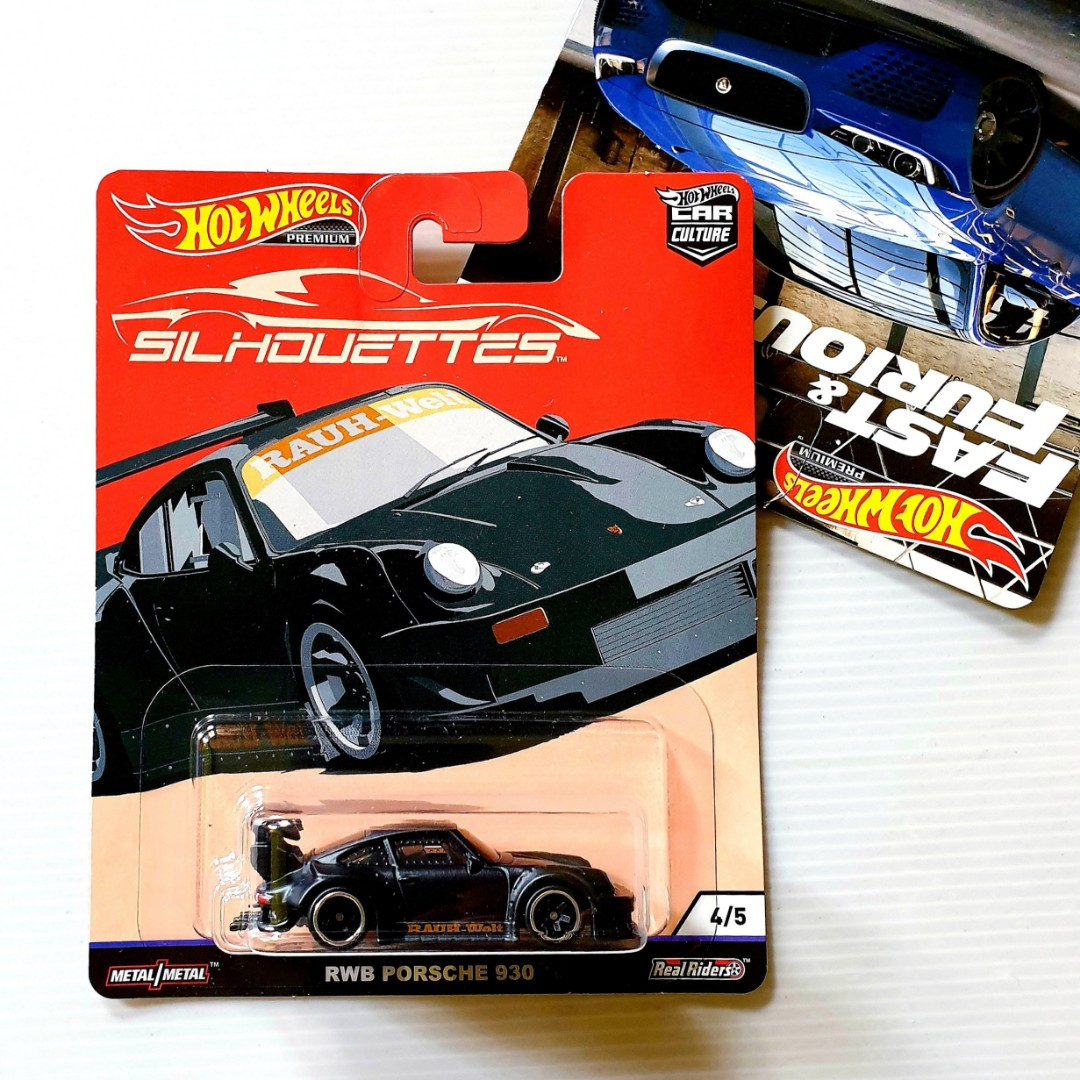 Hot Wheels Premium Silhouettes Rwb Porsche 930 Hotwheels Car Culture Toys Games Bricks Figurines On Carousell