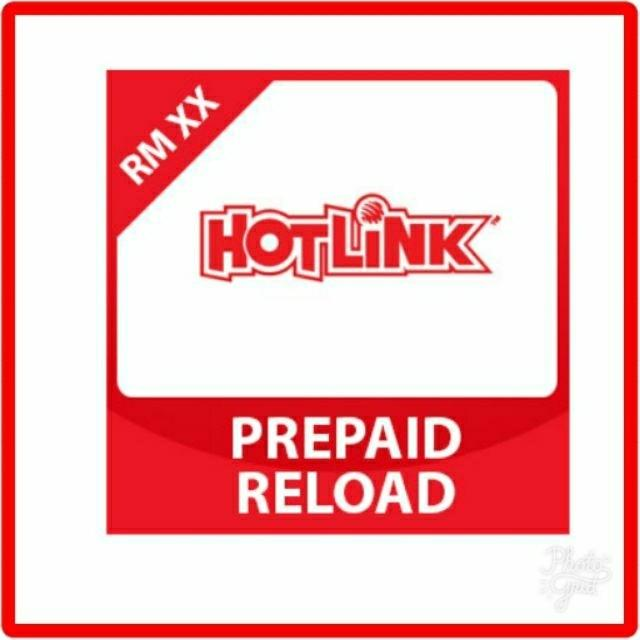 Hotlink Maxis Prepaid Reload Topup Tickets Vouchers Gift Cards Vouchers On Carousell