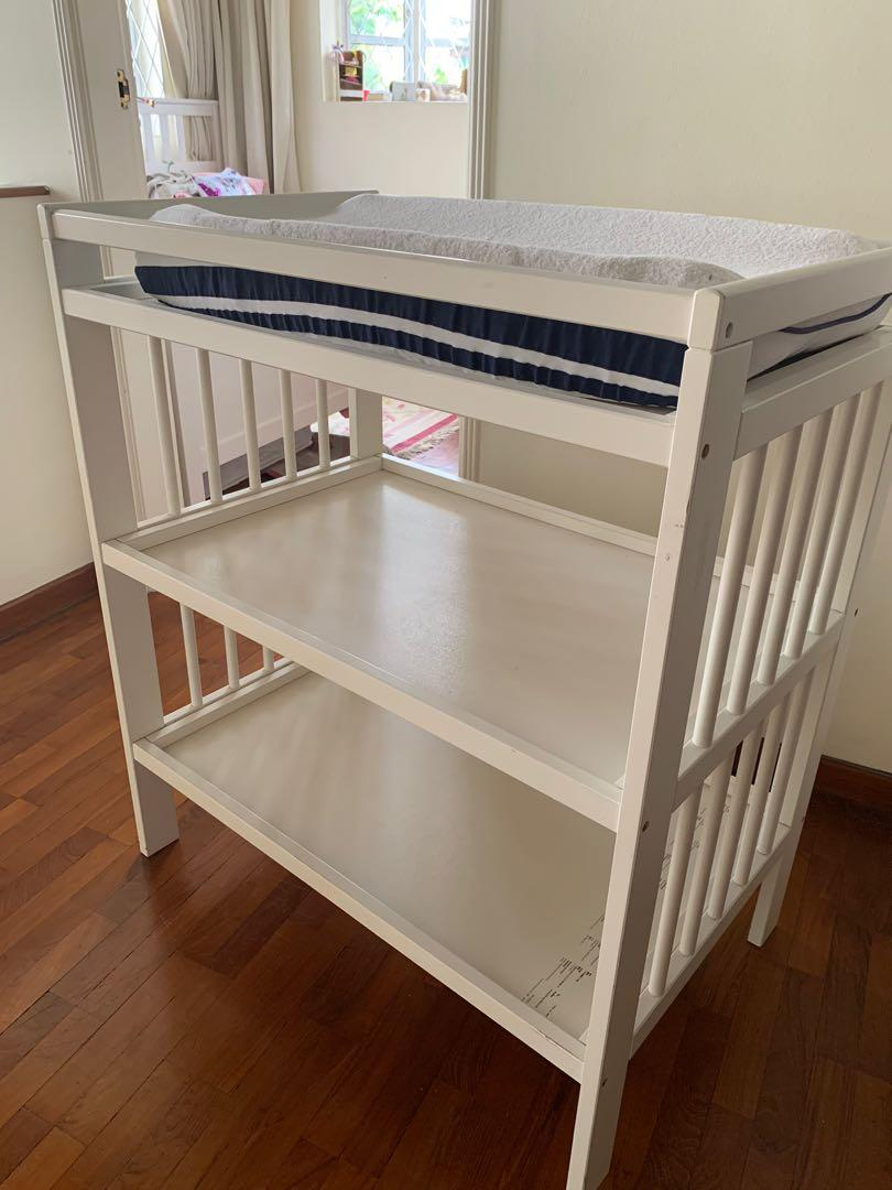 Picture of: Ikea Baby Change Table Babies Kids Cots Cribs On Carousell