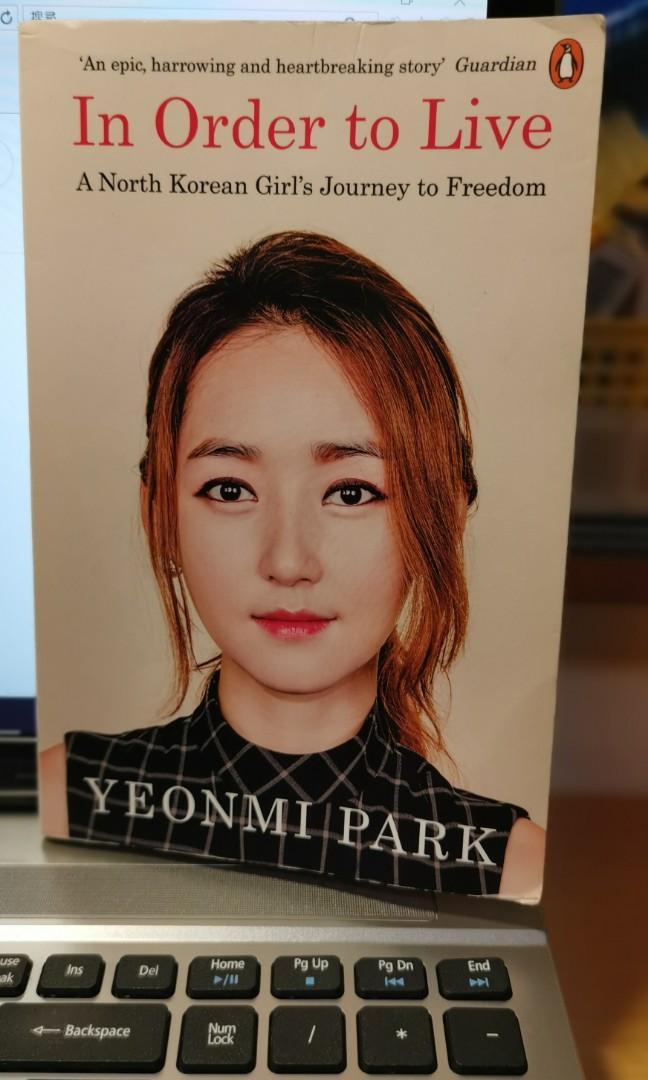 二手書In Order to Live by Yeonmi Park為了活下去