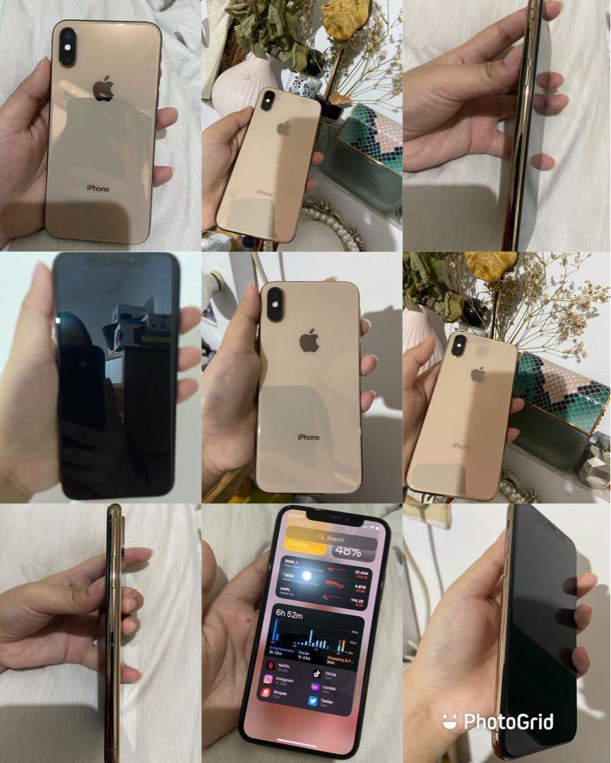 IPHONE XS GOLD 256 GB MULUS 99% LIKE NEW