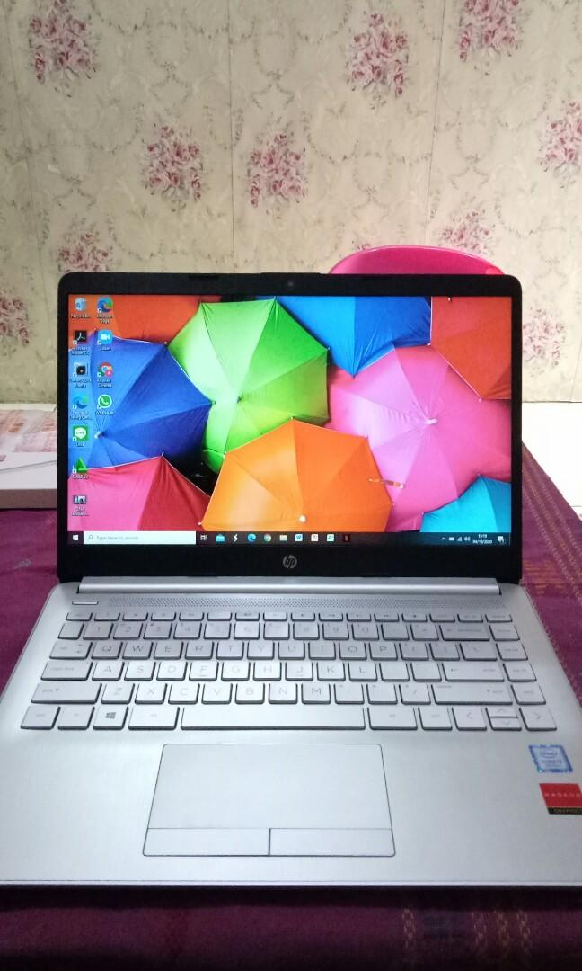 Laptop HP garansi masih lama (FREE POWERBANK)