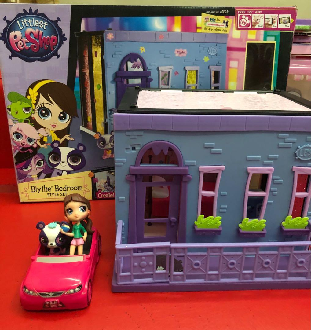 Lps Littlest Pet Shop Blythe Bedroom Style Se Hobbies Toys Toys Games On Carousell