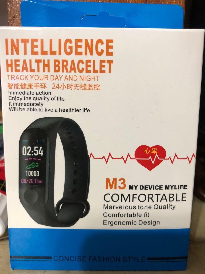 M3智慧手環 心率監測 訊息推送 藍牙運動手環新款M3智慧手環 心率監測 血壓偵測 訊息
