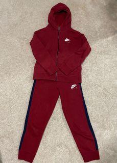 Nike Maroon Track Suit