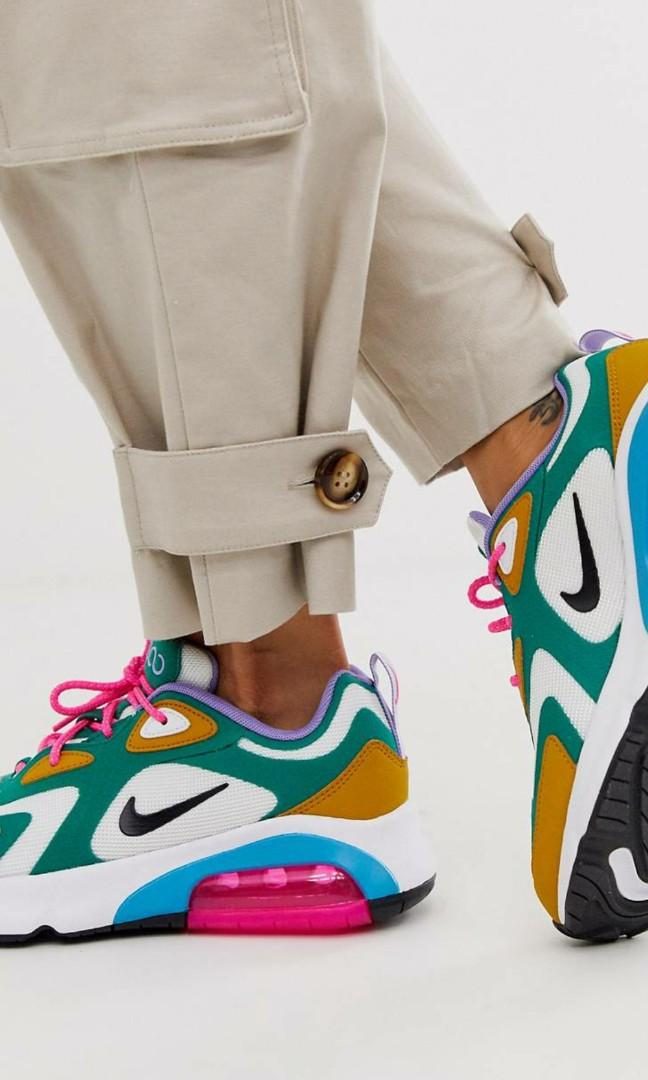Nike Multi Air Max 200 Trainers, Women