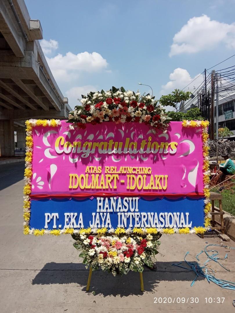 papan bunga ucapan congratulations