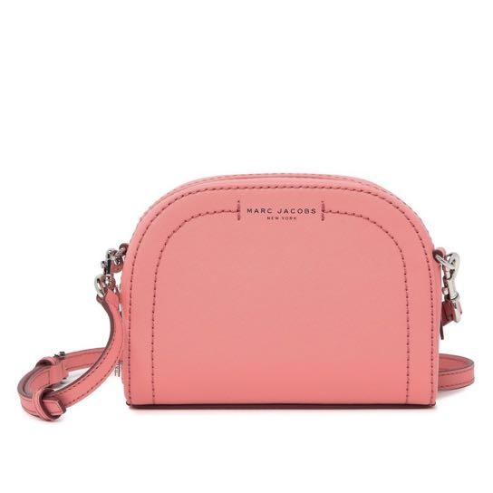 Pink Marc Jacobs Playback Leather Crossbody Bag
