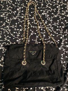 Prada Vintage Handbag with chain