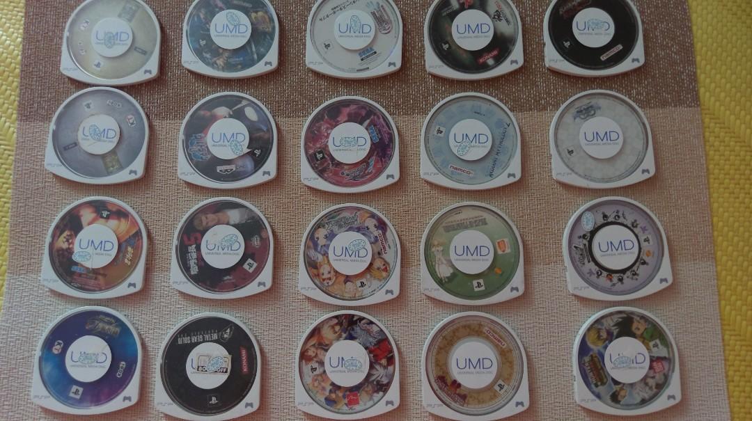 PSP 正版UMD 遊戲光碟x20 全部出清!