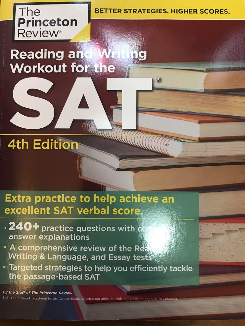 Reading and Writing Workout for the SAT (Princeton Review)