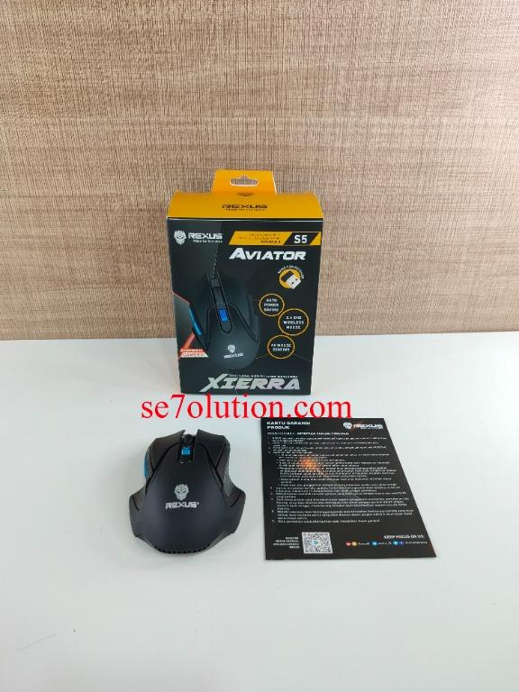 Rexus Aviator Xierra Professional Wireless Gaming Mouse (RXM-S5)
