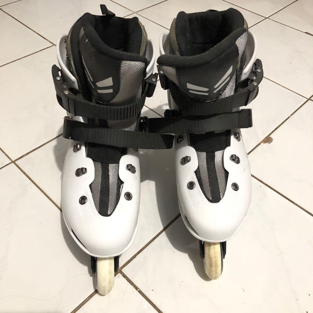 Sepatu roda slalom labeda 237 white MURAH