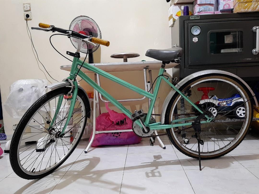 Sepeda hijau