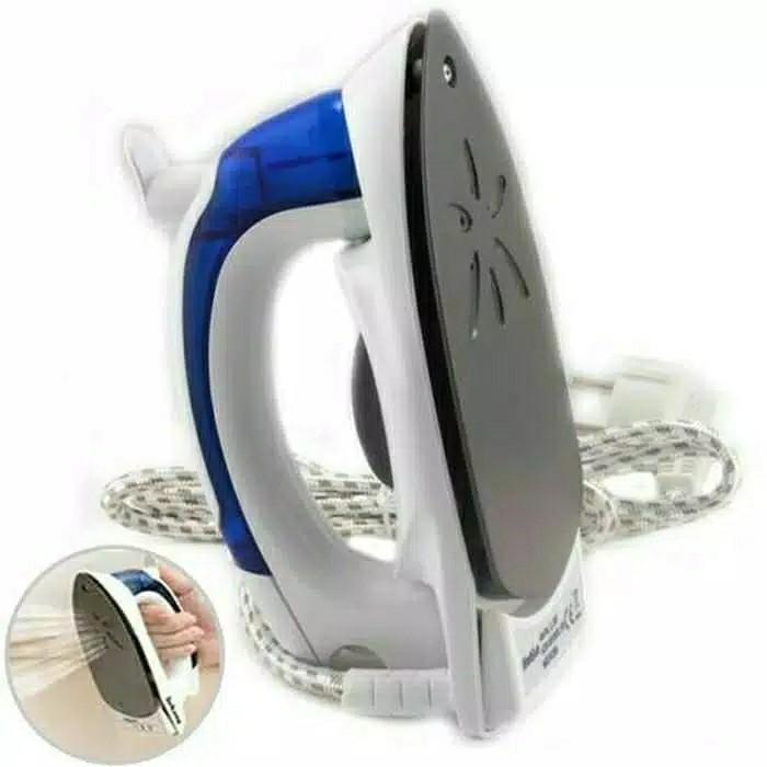 Setrika uap lipat mini steamer iron