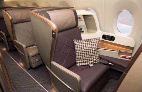 Singapore Airlines Business Class Ticket - 25% discount from the listed price