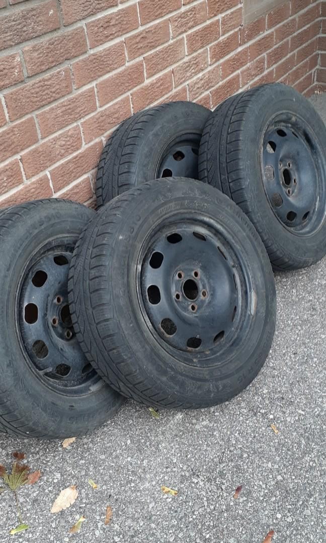 Snow Tire with Rims