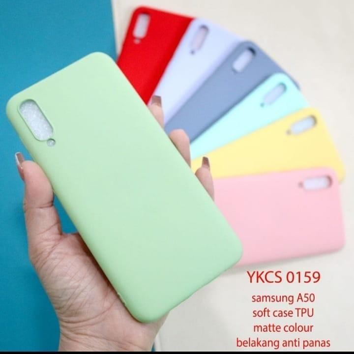 Softcase pastel tebal silikon Samsung A30s A50s A50