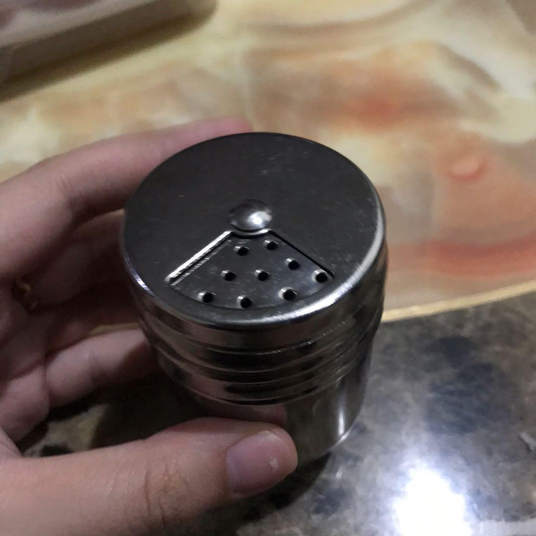 tempat  bumbu merica stainless stain