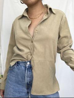 Vintage Nude Buttonup