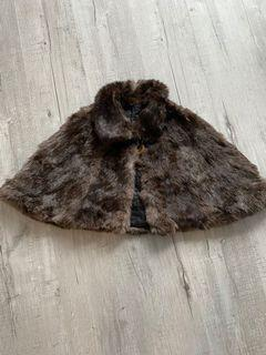 Vintage real fur stole - great condition!