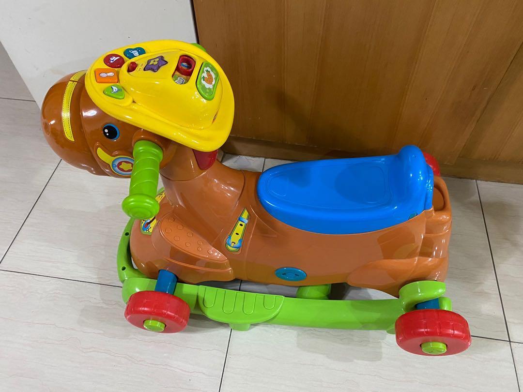 【Vtech】多功能騎乘小馬 小馬座騎 / 搖搖馬/ 學步車