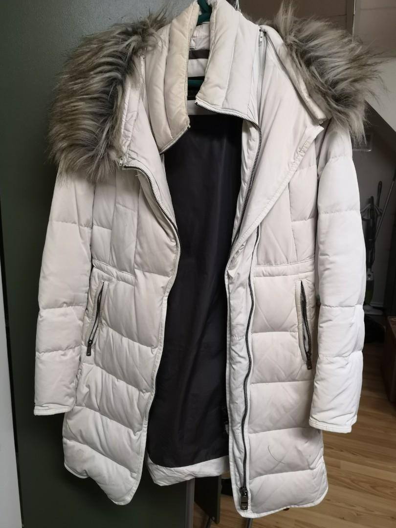 Zara long winter jacket