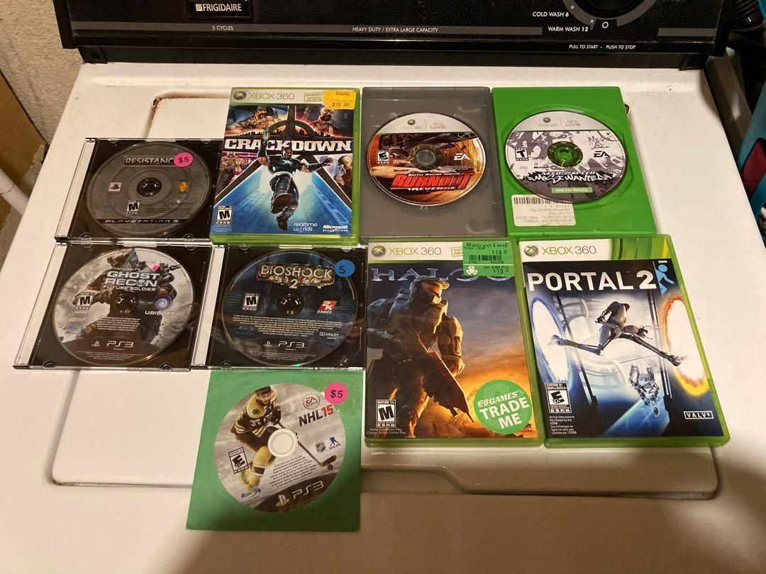 15 Xbox 360, PS3, and PS2 games