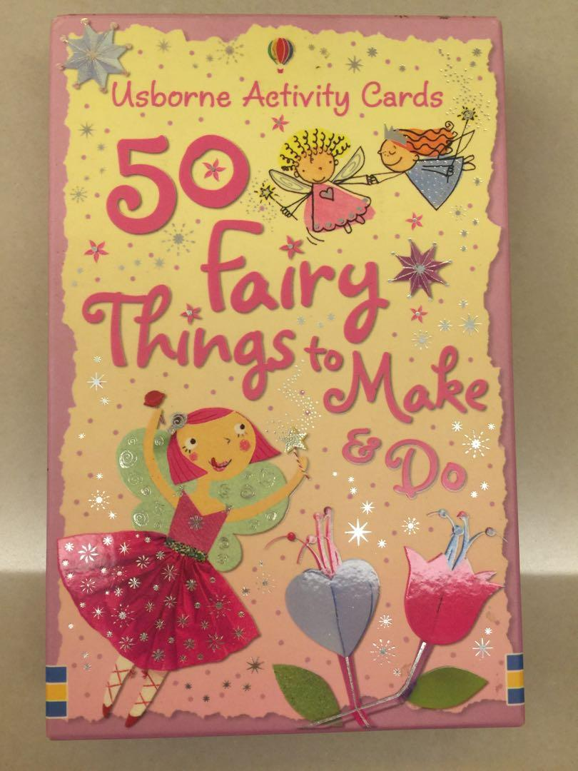 50 Fairy Things to Make & Do