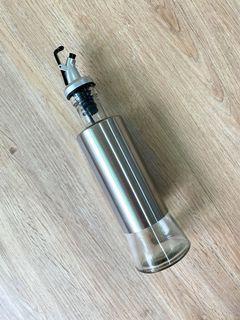 矽統防漏玻璃不鏽鋼調味/油瓶