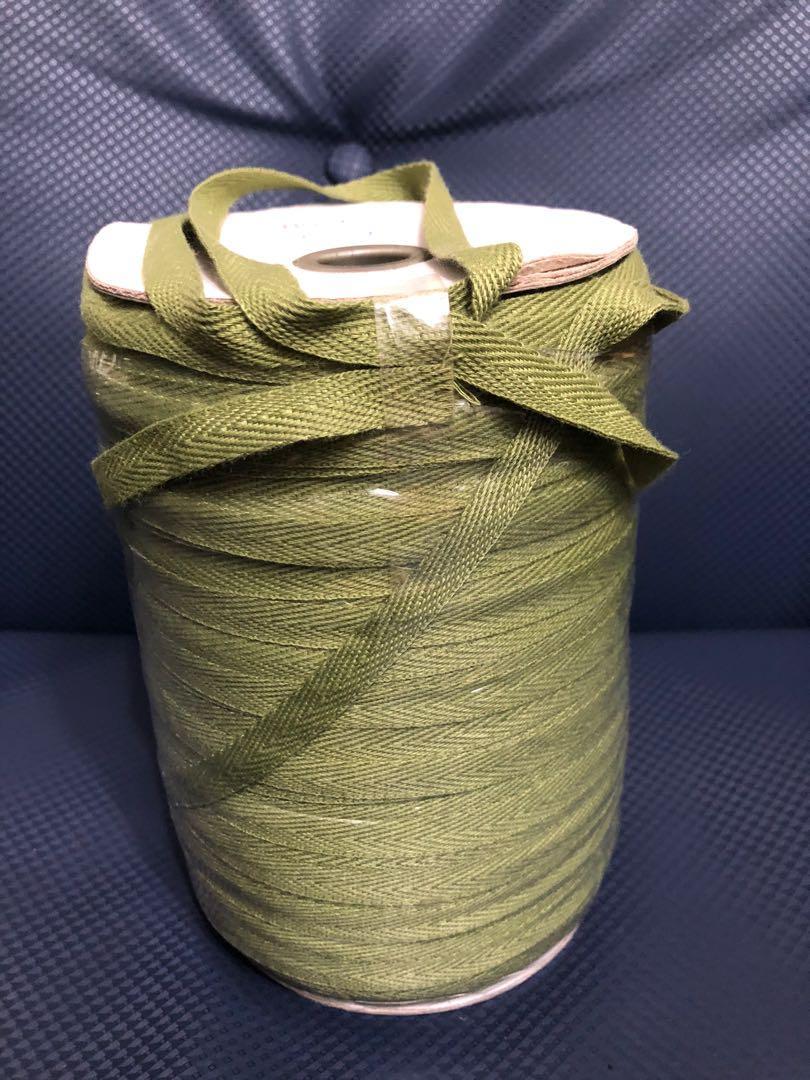 軍綠色棉線