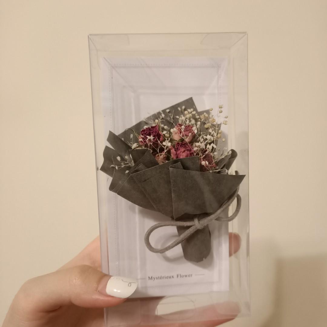 乾燥花 玫瑰卡片