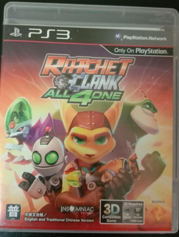 中文版 拉捷特與克拉克 四合一 中文版 PS3 Ratchet and Clank All 4 One