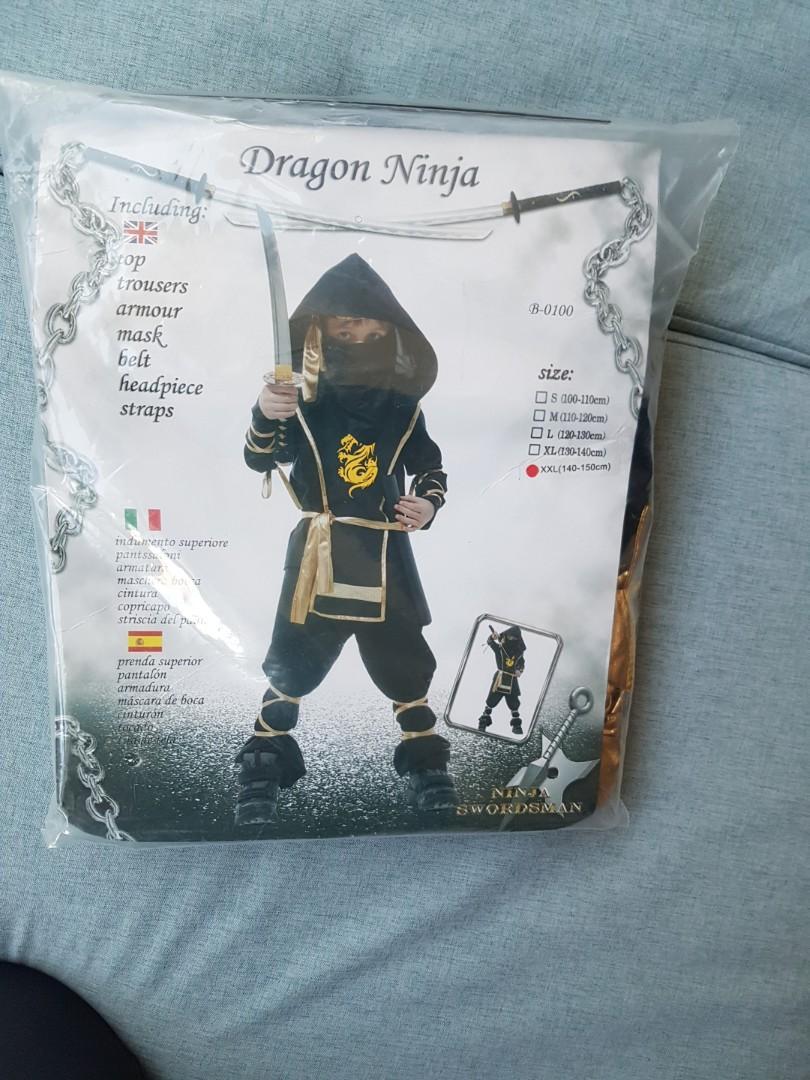 萬聖節兒童服裝 日本武士服日本忍者服cosplay