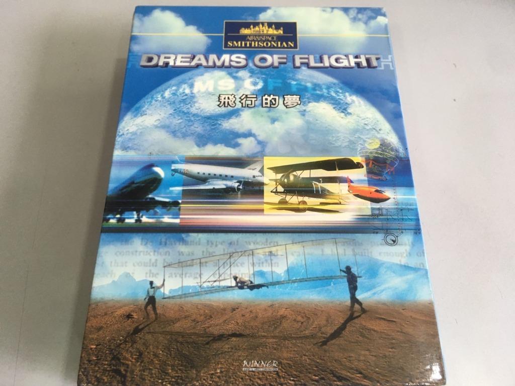 「環大回收」♻二手 DVD 早期 絕版【飛行的夢 dreams of flight】正版 整套 早期歷史紀錄片 請先詢問