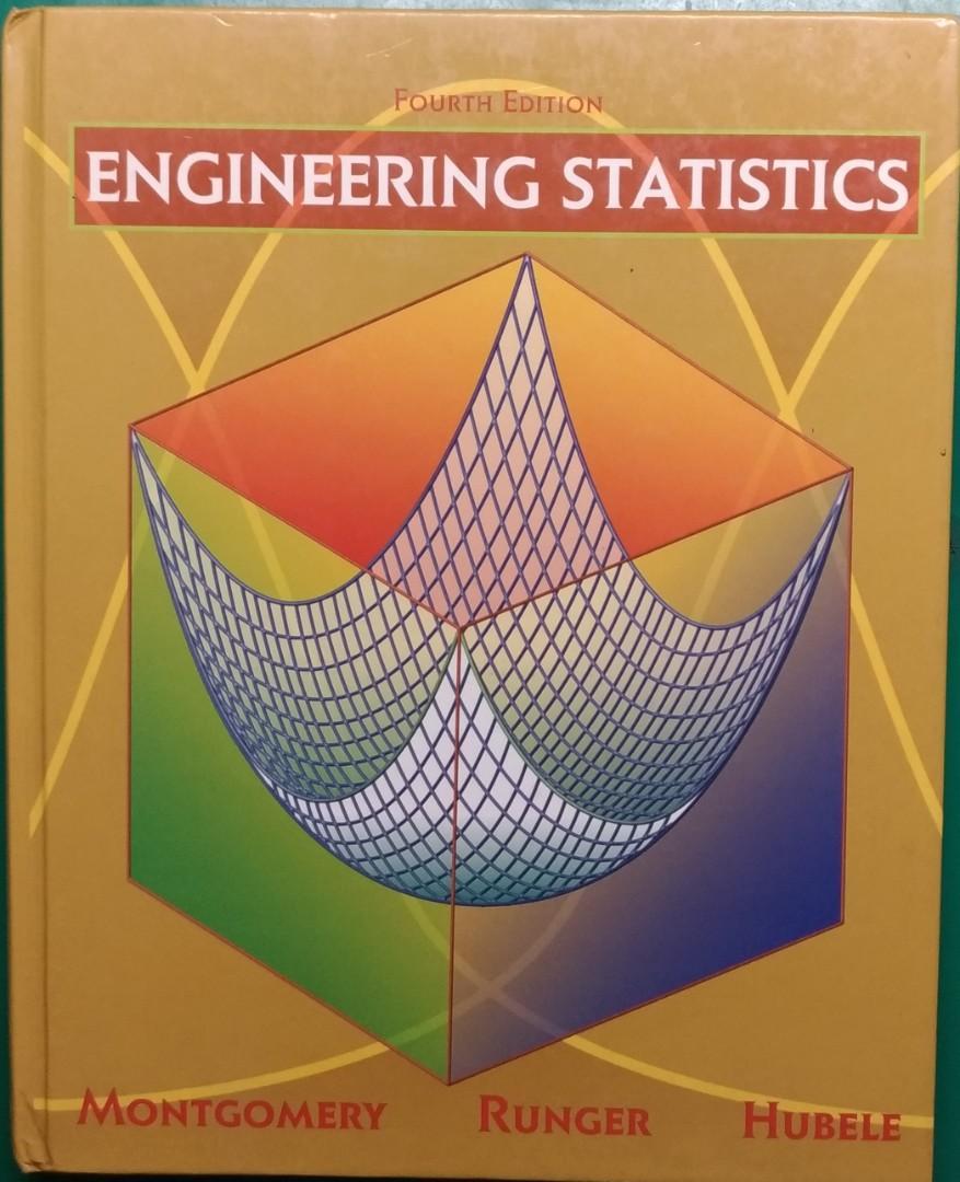 工程統計學原文書(含解答+附贈課程講義, Engineering Statistics, 4th edition)
