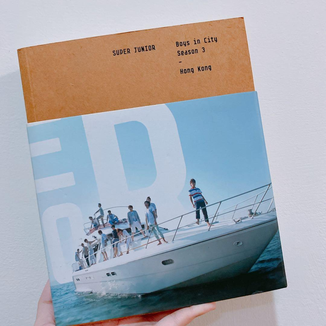 免運 Super Junior Boys in City Season 3 Hong Kong 寫真書 明信片 DVD 海報