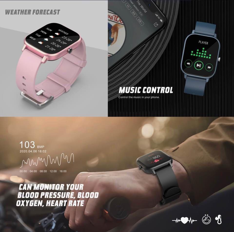 全新現貨!HAVIT 2020 M98 M9006 多功能智能手錶Apple Watch iwatch sport 運動手錶watch 手錶Smart  Watch, 名牌, 錶- Carousell
