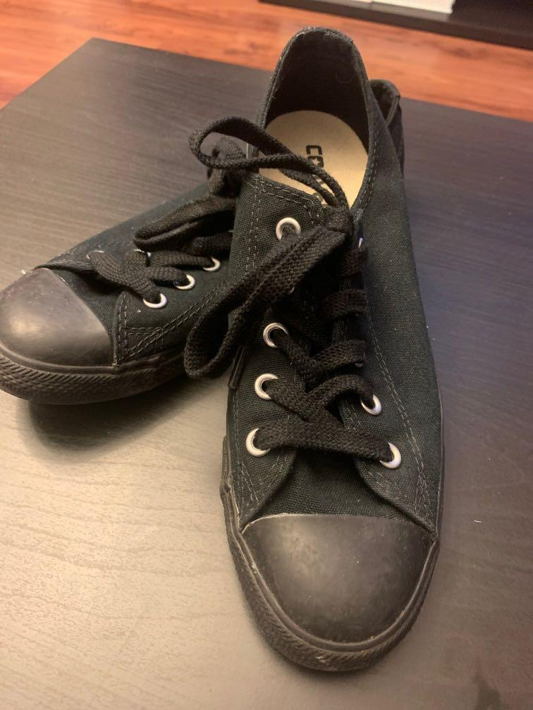 All Star Converse black size 7.5
