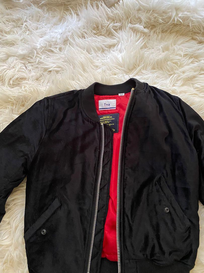 Alpha TNA bomber jacket Velvet - Medium