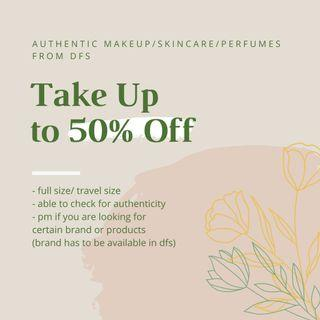 AUTHENTIC DISCOUNTED MAKEUP/SKINCARE/PERFUMES