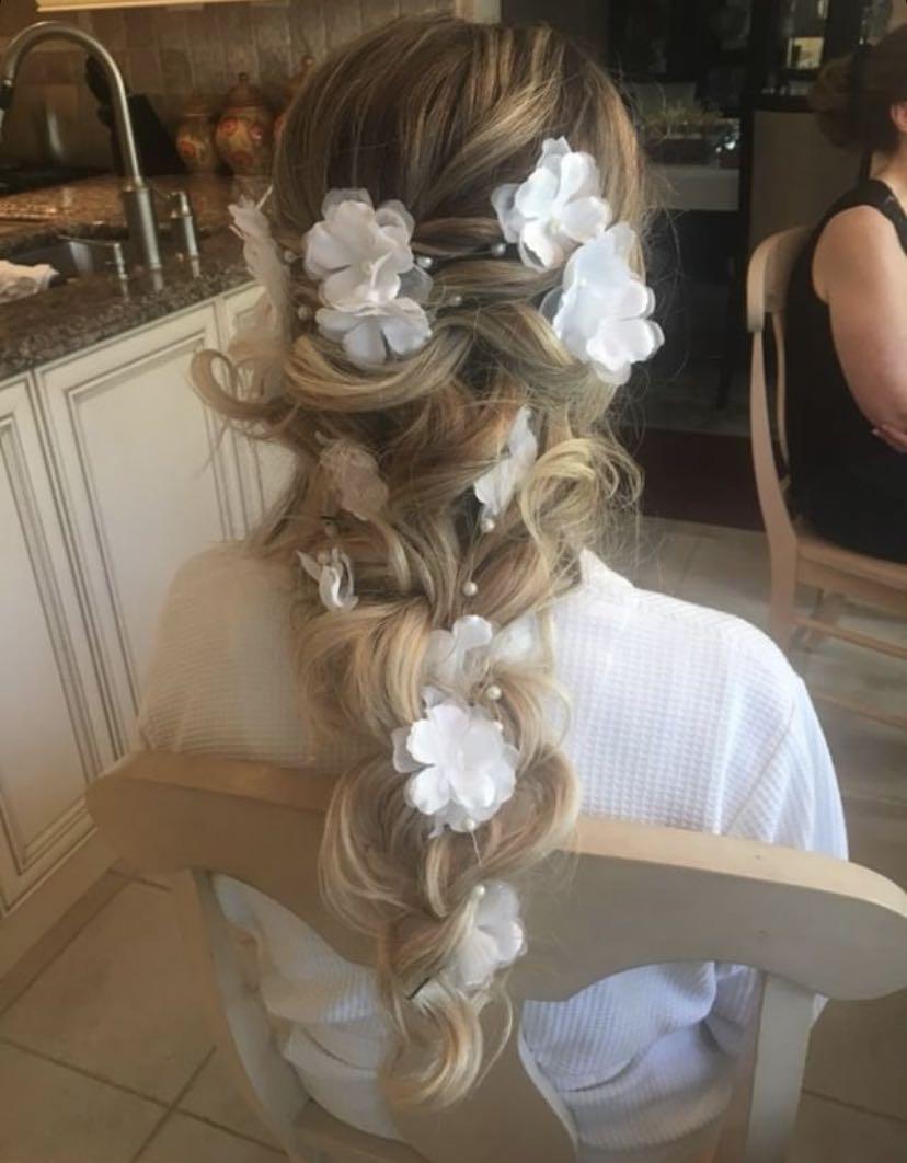 BRIDAL HAIR VINE WEDDING HAIR PIECE BY ULYANA ASTER