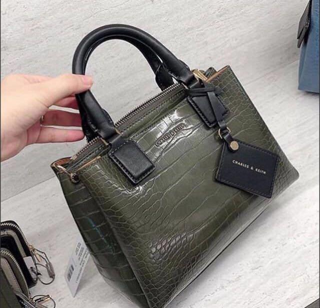 Charles and Keith Croc Structured