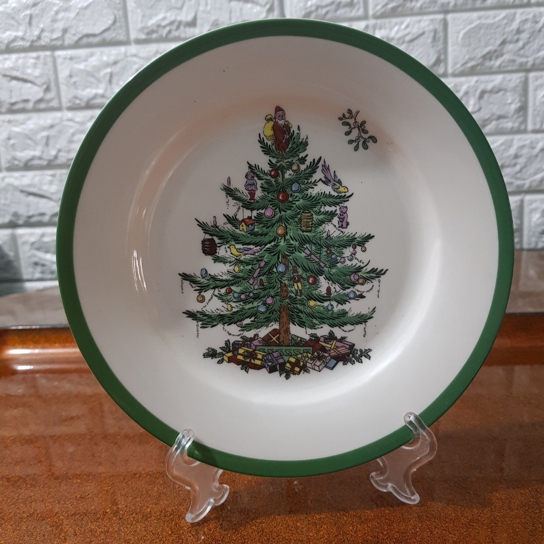 Christmas Display Plate Antiques Vintage Collectibles On Carousell